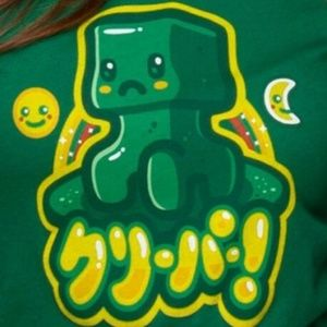 Minecraft Kawaii Creeper T-Shirt Mojang Jinx